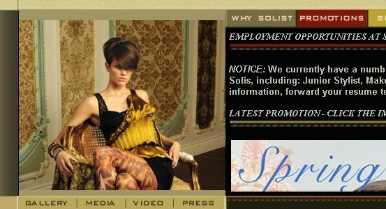The Old Solis Website